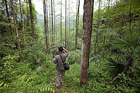 May 3rd, 2011_Shangri-La, Yunnan, China_ Views of the natural areas inside the Qingcheng Lianghe Mountain Village area in Sichuan Province, China.  Qingcheng is located near Chengdu and is an example of recent trends in China's tourism industry.  Photographer: Daniel J. Groshong/The Hummingfish Foundation