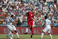San Pedro Sula, Honduras - Tuesday September 05, 2017: Clint Dempsey during a 2017 FIFA World Cup Qualifying (WCQ) round match between the men's national teams of the United States (USA) and Honduras (HON) at Estadio Olímpico Metropolitano.