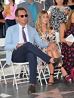 Will Arnett &amp; girlfriend Elizabeth Law at the Hollywood Walk of Fame Star Ceremony honoring actor Jason Bateman. Los Angeles, USA 26 July 2017<br /> Picture: Paul Smith/Featureflash/SilverHub 0208 004 5359 sales@silverhubmedia.com