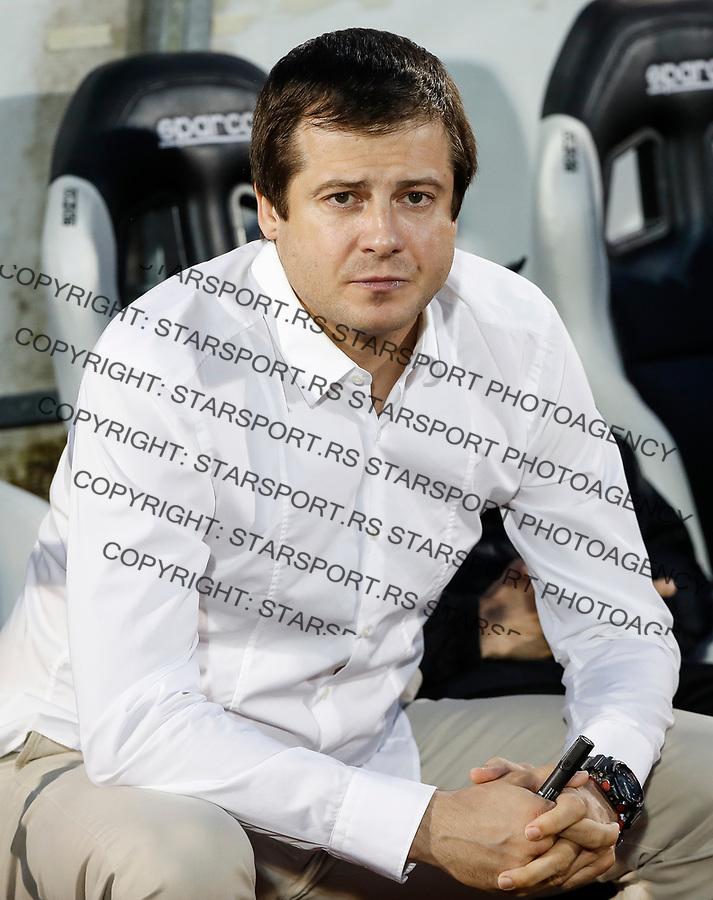 Fudbal Kup Srbije Season 2017-2018 Polufinale Semifinal Match Two<br /> Partizan v Cukaricki<br /> Head coach Nenad Lalatovic <br /> Beograd, 14.04.2018.<br /> foto: Srdjan Stevanovic/Starsportphoto &copy;