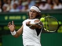 29-6-06,England, London, Wimbledon, second round match,  Nadal