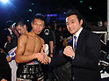 WBA super featherweight title bout at Ariake Colosseum