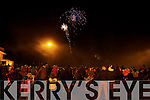 New Year's Eve fire works display at Manor East, Tralee on Tuesday evening.