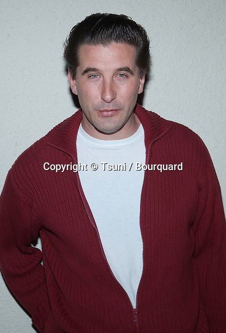 William Baldwin arriving at the Norby's Walters 21th Annual Pre-Holiday Christmas Party at the Friars Club in Los Angeles. November 24, 2002.