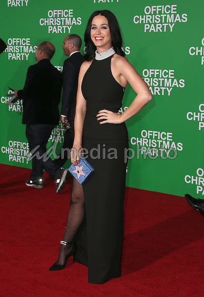 """07 December 2016 - Westwood, California - Katy Perry.  """"Office Christmas Party"""" Paramount Pictures Los Angeles Premiere held at Regency Village Theatre. Photo Credit: F. Sadou/AdMedia"""