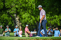 Jon Rahm (ESP) watches his putt on 2 during round 3 of the Fort Worth Invitational, The Colonial, at Fort Worth, Texas, USA. 5/26/2018.<br /> Picture: Golffile | Ken Murray<br /> <br /> All photo usage must carry mandatory copyright credit (&copy; Golffile | Ken Murray)
