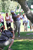Graeme McDowell (NIR) during the final day of the  Andalucía Masters at Club de Golf Valderrama, Sotogrande, Spain. .Picture Denise Cleary www.golffile.ie