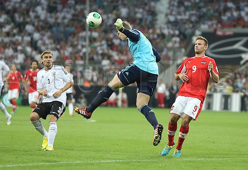 06.09.2013. Allianz Arena, Munich, Germany.  Manuel Neuer. Germany versus Austria  World Cup Qualification Munich