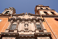Facade of the Church of San Francisco in the city of San Luis de Potosi, Mexico
