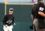 Reno Aces' manager Bret Butler argues a call with the home plate umpire during Friday's game, July 15, 2011 in Reno, Nev. The Aces defeated the Colorado Springs Sky Sox 6-3..Photo by Cathleen Allison