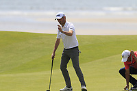 Cormac Sharvin (IRL) putts on the 6th green during Thursday's Round 1 of the Dubai Duty Free Irish Open 2019, held at Lahinch Golf Club, Lahinch, Ireland. 4th July 2019.<br /> Picture: Eoin Clarke | Golffile<br /> <br /> <br /> All photos usage must carry mandatory copyright credit (© Golffile | Eoin Clarke)
