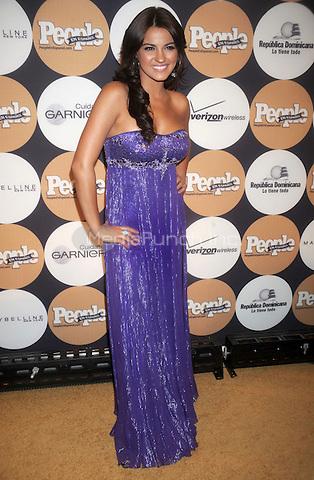 "Maite Perroni at People En Espanol's ""50 Most Beautiful"" Gala at The Edison Ballroom in New York City. May 13, 2009. Credit: Dennis Van Tine/MediaPunch"