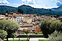 "SAGRA DEL ""PESCE E PATATE"" 2011, BARGA, ITALY<br /> <br /> GENERAL VIEW OF THE TOWN OF BARGA."