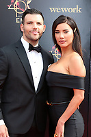 LOS ANGELES - MAY 5:  Elan Ruspol, Jacqueline MacInnes Wood at the 2019  Daytime Emmy Awards at Pasadena Convention Center on May 5, 2019 in Pasadena, CA