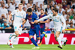 Luis Suarez (l) of FC Barcelona is followed by Mateo Kovacic of Real Madrid during their Supercopa de Espana Final 2nd Leg match between Real Madrid and FC Barcelona at the Estadio Santiago Bernabeu on 16 August 2017 in Madrid, Spain. Photo by Diego Gonzalez Souto / Power Sport Images