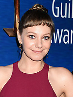 BEVERLY HILLS, CA - FEBRUARY 11: Writer Emily V. Gordon attends the 2018 Writers Guild Awards L.A. Ceremony at The Beverly Hilton Hotel on February 11, 2018 in Beverly Hills, California.