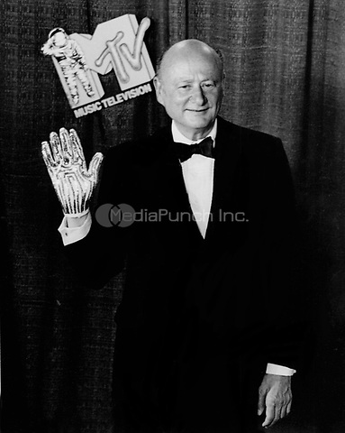 Ed Koch at the MTV Music Awards at Radio City Music Hall in New York City, NY in September, 1984. © Scott Weiner /MediaPunch