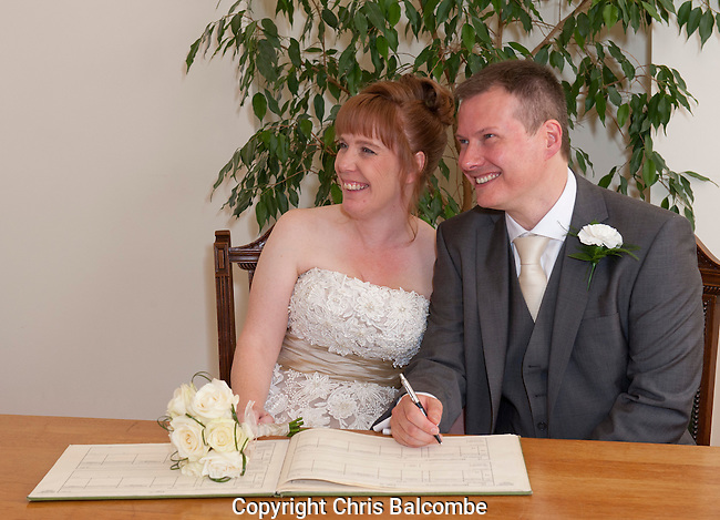 The Wedding of Donna-Louise and Scott, in Southern England.<br />