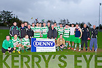 TOP TEAM: The Killarney Celtic team who won the KDL Munster Junior final at Mounthawk park, Tralee on Sunday.