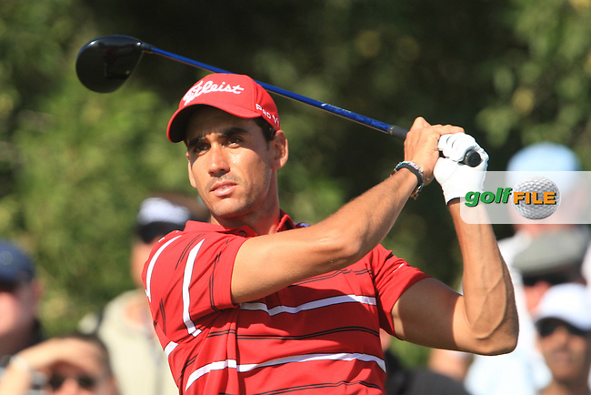 Rafael Cabrera-Bello (ESP) on the third day of the DUBAI WORLD CHAMPIONSHIP presented by DP World, Jumeirah Golf Estates, Dubai, United Arab Emirates.Picture Denise Cleary www.golffile.ie
