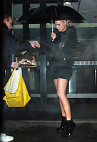 NEW YORK, NY - FEBRUARY 7: Charlotte McKinney seen after an appearance on Good Day NY in New York City on February 07, 2018. Credit: RW/MediaPunch