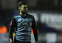 Cardiff Blues&rsquo; Aled Summerhill<br /> <br /> Photographer Kevin Barnes/CameraSport<br /> <br /> Guinness Pro14  Round 14 - Cardiff Blues v Toyota Cheetahs - Saturday 10th February 2018 - Cardiff Arms Park - Cardiff<br /> <br /> World Copyright &copy; 2018 CameraSport. All rights reserved. 43 Linden Ave. Countesthorpe. Leicester. England. LE8 5PG - Tel: +44 (0) 116 277 4147 - admin@camerasport.com - www.camerasport.com