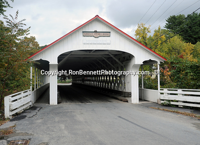 Ashuelot covered bridge 1864 New Hampshire, covered bridge, New Hampshire, New England, Atlantic Ocean, colonial sovereign nation of America, January 1776, orginal thirteen states, New Hampshire primary, Concord state capital, Live Free or Die, Granite State, founding father Nicholas Gilman, Senator Daniel Webster, Revolutionary War hero John Stark, editor Horace Greeley, poet Robert Frost, Astronaut Alan Shepard and author Dan Brown, President Franklin Pierce, Lake region, seacoast, shortest ocean coastline, lighthouse, White Mountains, Mount Washington, autumn leaves on hardwood trees turn colors, covered bridges,Ashuelot Covered Bridge Thompson covered bridge, Cresson covered bridge, Portsmouth Harbor light New Castle NH, Fort Point light, New Castle light, Fort Constitution light, PhotoShelter featured Photographers Ron Bennett, Photoshelter featured photographer, Prints available and Stock Photography licensed, Licensed Stock Photography, RonBennettPhotography.com,  RonBennettPhotography.net,http://pa.photoshelter.com/c/ronbennett, http://www.RonBennettPhotography.com,