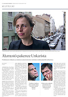 Helsingin Sanomat (Finnish daily) on theatre culture in Hungary, 2013.03.10. <br /> Photos: Martin Fejer