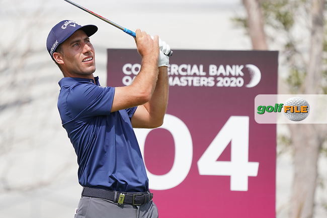 Nino Bertasio (ITA) during the final round of the Commercial Bank Qatar Masters 2020, Education City Golf Club , Doha, Qatar. 08/03/2020<br /> Picture: Golffile   Phil Inglis<br /> <br /> <br /> All photo usage must carry mandatory copyright credit (© Golffile   Phil Inglis)