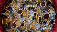 NEW YORK, NY - JUNE 25: Cookies are seen at a stand during the Summer Fancy Food Show at the Javits Center in the borough of Manhattan on June 23, 2019 in New York, The Summer Fancy Food Show is the largest and biggest specialty food industry event in the continent (Photo by Eduardo MunozAlvarezVIEWpress/Corbis via Getty Image