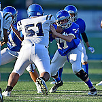 Bryant 8th Grade Football vs Conway Blue - 9.28.16