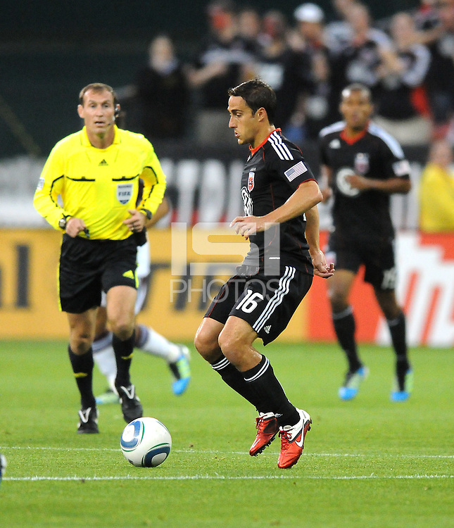 DC United forward Josh Wolff (16)   DC United tied The Colorado Rapids 1-1, at RFK Stadium, Saturday  May 14, 2011.