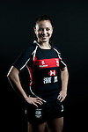 Daniella Means poses during the Hong Kong 7's Squads Portraits on 5 March 2012 at the King's Park Sport Ground in Hong Kong. Photo by Andy Jones / The Power of Sport Images for HKRFU