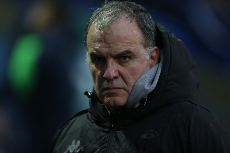 Leeds United Manager Marcelo Bielsa <br /> <br /> Photographer Stephen White/CameraSport<br /> <br /> The EFL Sky Bet Championship - Bolton Wanderers v Leeds United - Saturday 15th December 2018 - University of Bolton Stadium - Bolton<br /> <br /> World Copyright © 2018 CameraSport. All rights reserved. 43 Linden Ave. Countesthorpe. Leicester. England. LE8 5PG - Tel: +44 (0) 116 277 4147 - admin@camerasport.com - www.camerasport.com