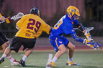 Los Angeles, CA 02/01/14 - Casey Mix (UCSB #43) and Dane Muller (USC #29)