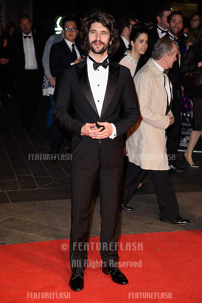 Ben Whishaw at the BFI London Film Festival premiere of &quot;Suffragette&quot; at the Odeon Leicester Square, London.<br /> October 7, 2015  London, UK<br /> Picture: Steve Vas / Featureflash