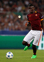 Calcio, Champions League, Gruppo E: Roma vs Barcellona. Roma, stadio Olimpico, 16 settembre 2015.<br /> Roma&rsquo;s Antonio Ruediger during a Champions League, Group E football match between Roma and FC Barcelona, at Rome's Olympic stadium, 16 September 2015.<br /> UPDATE IMAGES PRESS/Riccardo De Luca<br /> <br /> *** ITALY AND GERMANY OUT ***