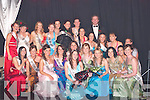 6253.ROSES: Roses surround Laura Costelloe, the newly crowned Kerry Rose 2007 on Friday night at The Earl of Desmond Hotel, Tralee, after she was selected from the 23 Kerry Roses to represent Kerry in the 2007 Rose of Tralee finals in August.