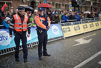 police presence at cycling races<br /> <br /> 104th Scheldeprijs 2016