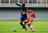 6th November 2019; Vozdovac Stadium, Belgrade, Serbia; UEFA Under 19 UEFA Youth league football, FK Crvena Zvezda under 19s versus Tottenham Hotspur under 19s; Timothy Eyoma of Tottenham Hotspurs FC competes for the ball