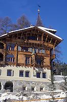 Europe/Suisse/Engadine/St-Moritz: Vieille maison