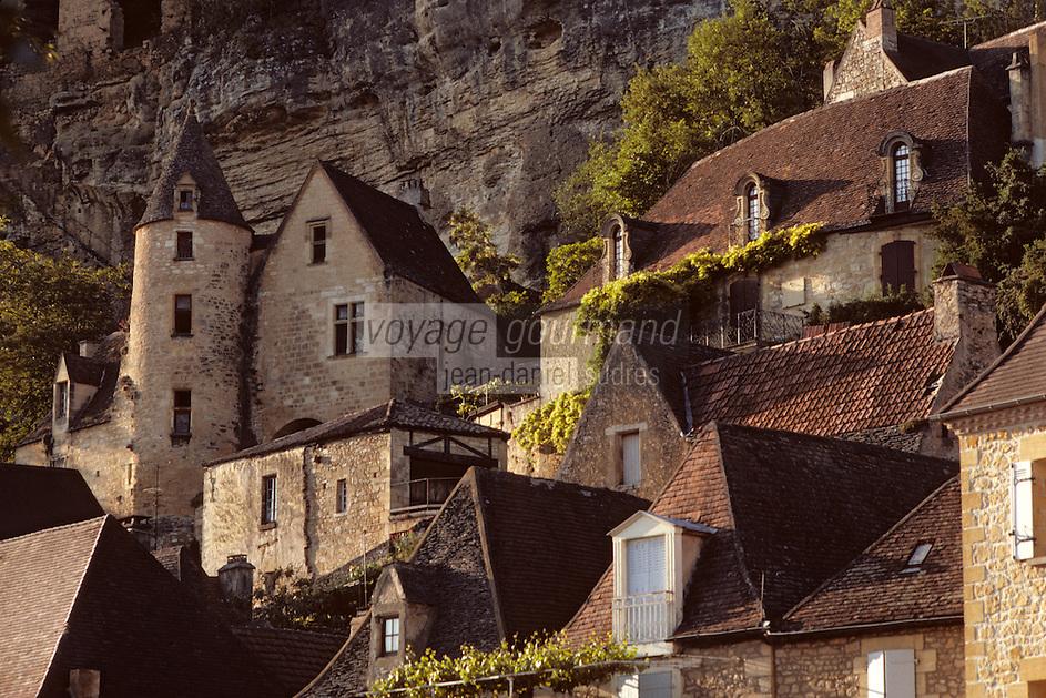 Europe/France/Aquitaine/24/Dordogne/Vallée de la Dordogne/Périgord/Périgord noir/La Roque-Gageac: Manoir du chanoine de Tarde