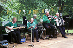 The band playing at the Ledwidge Day Celebrations in Slane..Picture Paul Mohan Newsfile