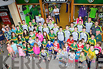 Kerry supporters who met their heroes at the Kerry GAA kit launch in the Kerry GAA store on Saturday