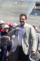 ATENCAO EDITOR IMAGEM EMBARGADA PARA VEICULOS INTERNACIONAIS - SAO PAULO, SP, 28 NOVEMBRO 2012 - COPA 2014 - VISTORIA ITAQUERAO - O secretario Geral da Fifa Jerome Valcke durante vistoria da Fifa ao Itaquerao, estadio que sediada o jogo de abertura da Copa do Mundo de 2014, neste quarta-feira, 28. (FOTO: WILLIAM VOLCOV / BRAZIL PHOTO PRESS).
