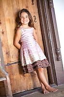 Young Smiling Hispanic Girl