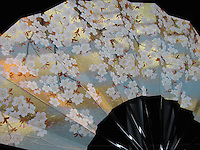 Handmade paper fans from Kyoto