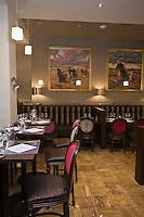 Europe/France/Bretagne/29/Finistère/Quimper: le Café de l'Epée, brasserie 1900 que fréquentèrent Max Jacob ou Jakez Hélias