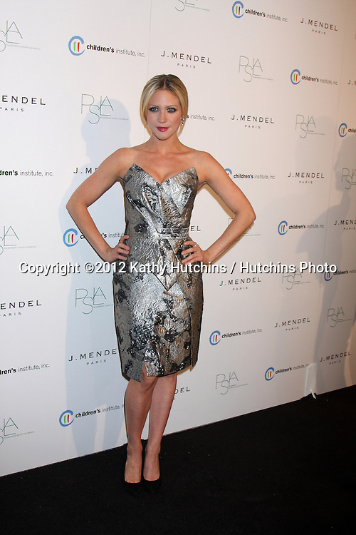 LOS ANGELES - OCT 17:  Brittany Snow arrives at  3rd Annual Autumn Party with designer J Mendel at The London West Hollywood on October 17, 2012 in West Hollywood, CA
