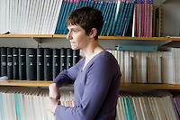 Portraits of Dr. Amy Keating in her lab and around her office at MIT in Cambridge, Massachusetts, USA, on March 2, 2012..